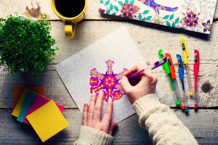 Five Cool Adult Coloring Books