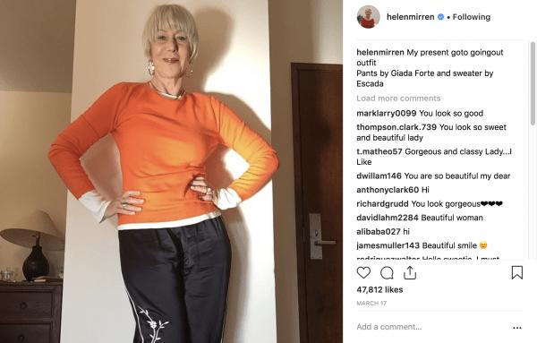 Helen Murrin on instagram