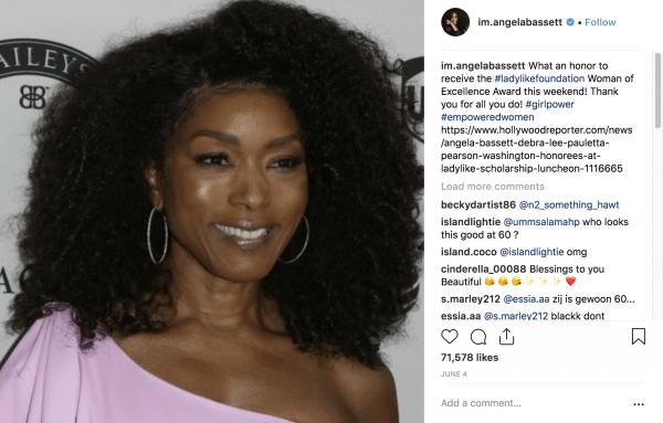 angela bassett on instagram