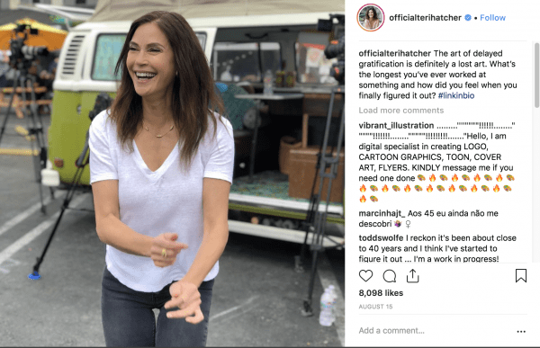 teri hatcher on instagram